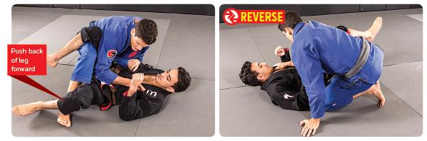 4. Drop knee to the mat